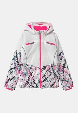 Spyder - CONQUER - Kurtka narciarska - white/pink