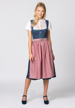 Stockerpoint - ROSELINE - Dirndl - blue/old pink