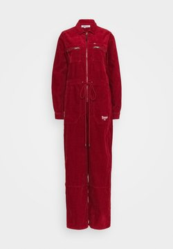 Tommy Jeans - REGULAR ZIP BOILER - Combinaison - wine red