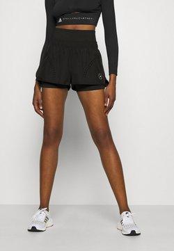 adidas by Stella McCartney - TRUEPUR - Krótkie spodenki sportowe - black