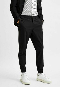 Selected Homme - Chinosy - black