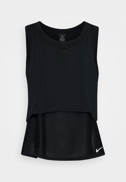 Nike Performance - DRY - Funktionsshirt - black/white