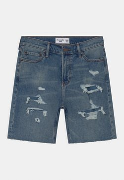 Abercrombie & Fitch - Jeans Shorts - blue