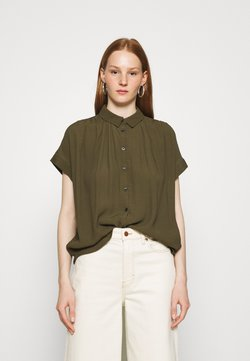 Madewell - DRAPEY CENTRAL  - Camicia - kale