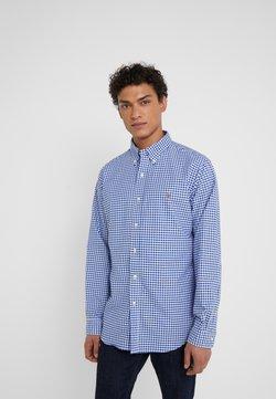 Polo Ralph Lauren - CUSTUM FIT OXFORD - Koszula - blue/white gingham