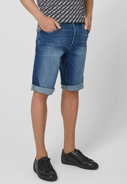 Q/S designed by - Jeans Shorts - stone blue denim