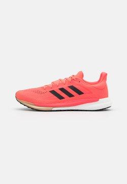 adidas Performance - SOLAR GLIDE BOOST SHOES - Obuwie do biegania treningowe - signal pink/core black/copper metallic