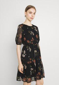 Vero Moda - VMKEMILLA DRESS - Freizeitkleid - black/sallie