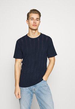 INDICODE JEANS - ATKINSON - T-shirts basic - navy