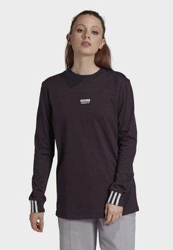 adidas Originals - R.Y.V. SPORTS INSPIRED LONG SLEEVE T-SHIRT - Långärmad tröja - noble purple