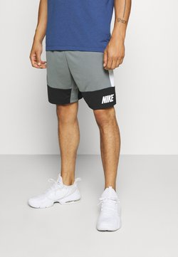 Nike Performance - DRY SHORT - Pantalón corto de deporte - smoke grey/black/white