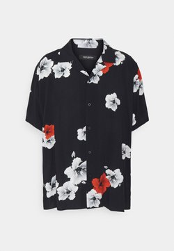 Shine Original - RESORT HAWAIIFLOWER - Hemd - black