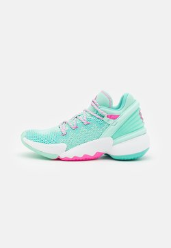 adidas Performance - D.O.N. ISSUE 2 UNISEX - Indoorskor - clear mint/acid mint/scream pink