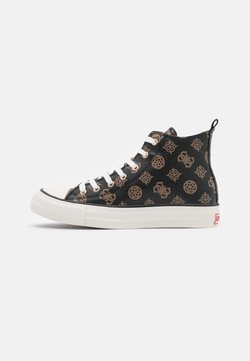 Guess - Baskets montantes - brown/ocra