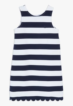 Polo Ralph Lauren - PONTE - Jerseykleid - french navy/white