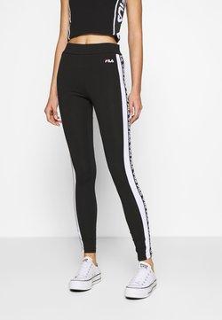 Fila - TASYA - Leggings - black/bright white