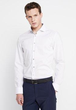 Seidensticker - SLIM SPREAD PATCH - Camicia elegante - weiß/grau