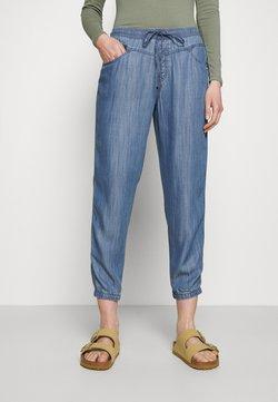 Esprit - Spodnie materiałowe - blue medium