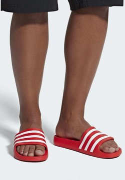 adidas Performance - ADILETTE AQUA SLIDES - Badesandaler - red