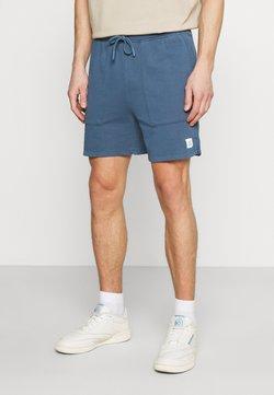 Marc O'Polo DENIM - FRONT POCKETS BACK POCKET - Shorts - grayish petrol