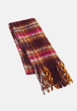 Even&Odd - Scarf - brown/pink