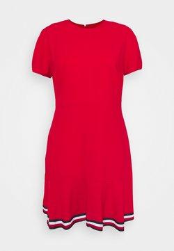 Tommy Hilfiger - SKATER DRESS - Freizeitkleid - primary red