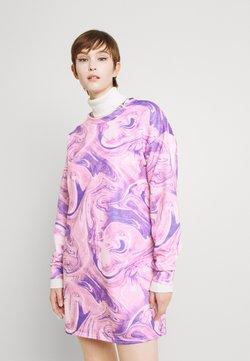 Missguided - MARBLE DRESS - Vapaa-ajan mekko - lilac