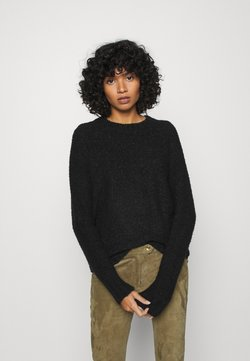 ONLY - ONLOLIVIA O NECK - Pullover - black