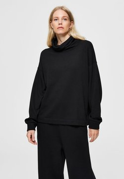Selected Femme - Collegepaita - black