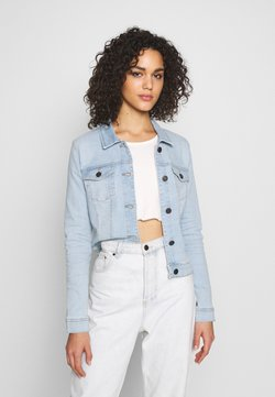 Noisy May - NMDEBRA JACKET - Veste en jean - light blue denim