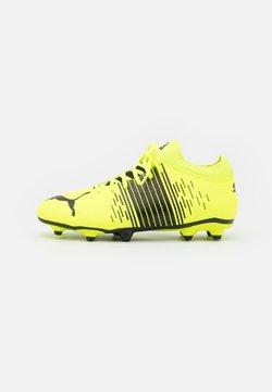 Puma - FUTURE Z 4.1 FG/AG JR UNISEX - Chaussures de foot à crampons - yellow alert/black/white