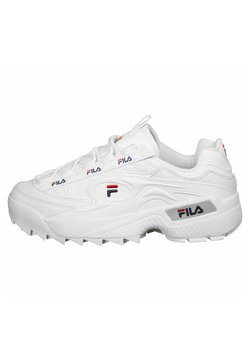 Fila - D-FORMATION - Sneakers laag - white/navy/red
