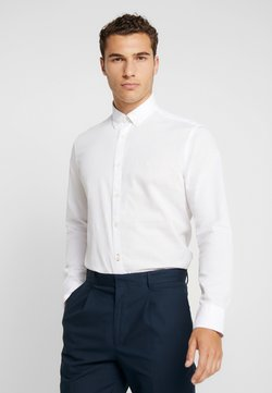 Marc O'Polo - FINE BEDFORD GARMENT DYED - Hemd - white