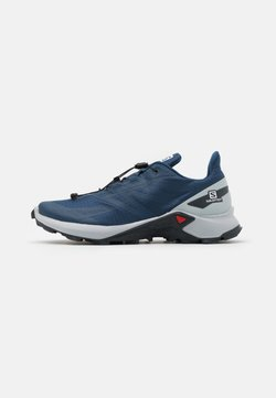 Salomon - SUPERCROSS BLAST - Zapatillas de trail running - dark denim/pearl blue/ebony