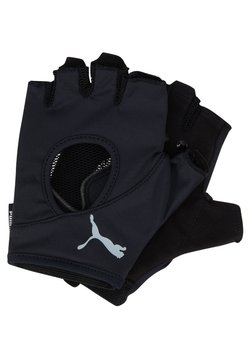 Puma - AT GYM GLOVES - Torghandskar - black/gray