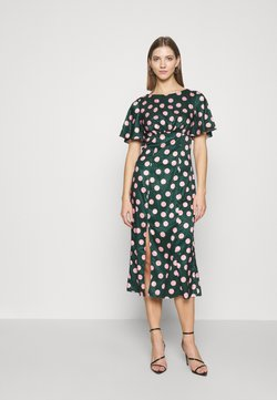 Chi Chi London - COZETTE DRESS - Freizeitkleid - green