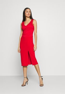 WAL G. - BRINLEY MIDI DRESS - Trikoomekko - red