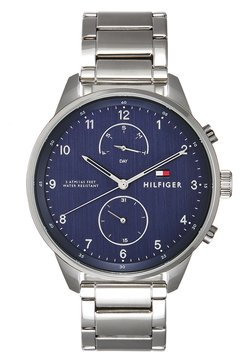 Tommy Hilfiger - CHASE - Rannekello - silver-coloured/blue