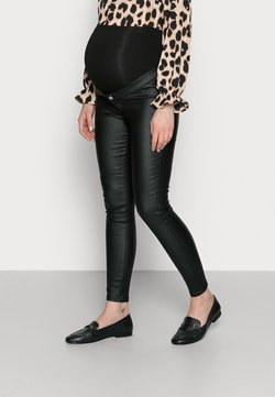 Missguided Maternity - VICE COATED  - Jeans Skinny Fit - black
