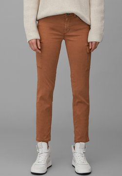 Marc O'Polo - LULEA  - Jeans Skinny Fit - chestnut brown