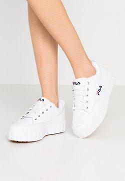 Fila - SANDBLAST  - Sneakers basse - white
