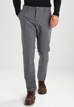 KnowledgeCotton Apparel - CHUCK THE BRAIN - Pantalon classique - dark grey melange