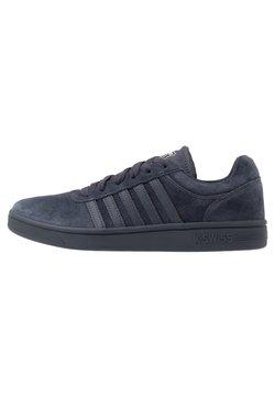 K-SWISS - COURT CHESWICK - Sneaker low - india ink/black