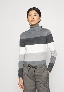 edc by Esprit - TURTLE - Strickpullover - dark grey