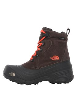 The North Face - Y CHILKAT LACE II - Talvisaappaat - coffee brown/flare