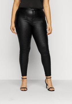 Missguided Plus - PLUS VICE COATED SKINNY  - Jeans Skinny Fit - black