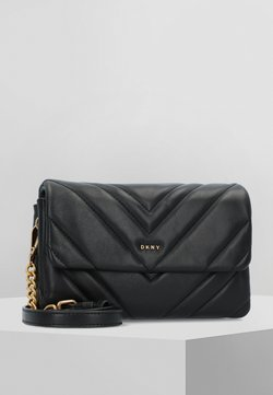 DKNY - VIVIAN  - Across body bag - black/gold