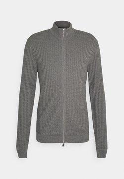 Matinique - MACARDO - Cardigan - medium grey melange