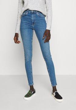 Topshop Tall - JAMIE CLEAN - Jeans Skinny Fit - blue denim