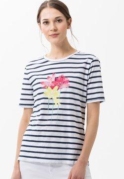 BRAX - STYLE CIRA - T-Shirt print - indigo